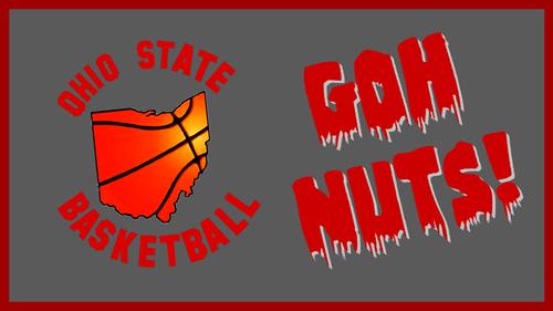 Ohio State विश्वविद्यालय बास्केटबाल, बास्केटबॉल, बास्केट बॉल वॉलपेपर possibly with ऐनीमे titled OHIO STATE BASKETBALL; GOH NUTS