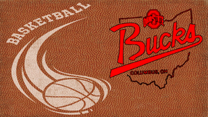 OHIO STATE BUCKS bola basket