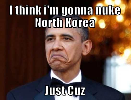 Obama, not really true, just funny
