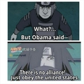 Obama said - anime photo
