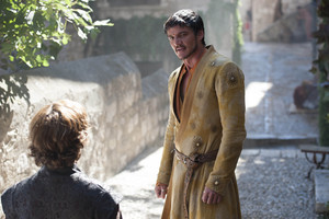 Oberyn Martell and Tyrion Lannister