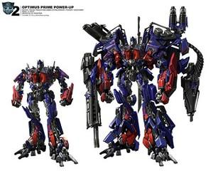 Optimus power ups