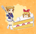 Otome and cake to Ichigo - anime photo