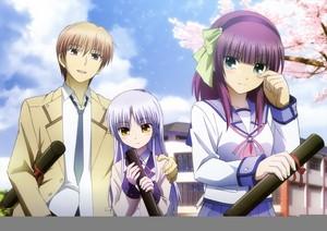 Otonashi, Kanade and Yuri