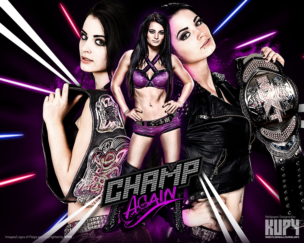 Paige - Champ Again
