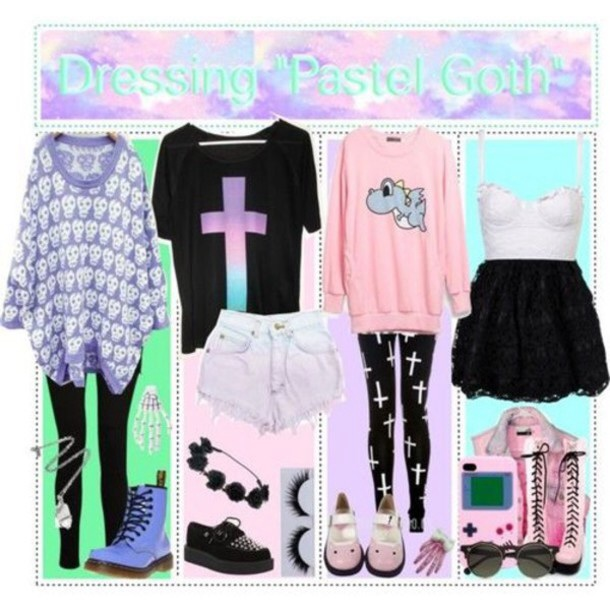Pastel Images Pastel Goth Outfit Ideas Wallpaper And