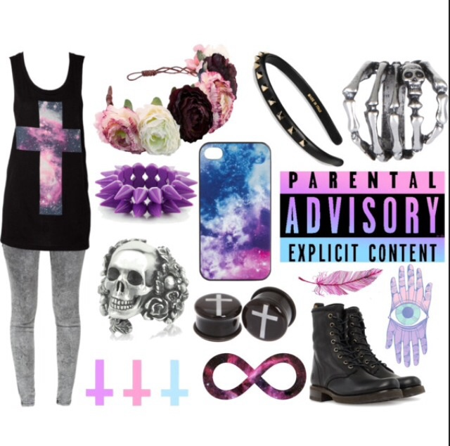 Pastel Images Pastel Goth Outfit Wallpaper And Background