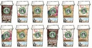 Pastel Starbucks