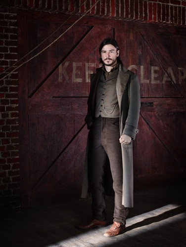 Penny Dreadful wallpaper with a business suit and a well dressed person titled Penny Dreadful | S.1 promos