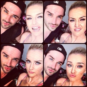 Perrie geplaatst this on her new Instagram today