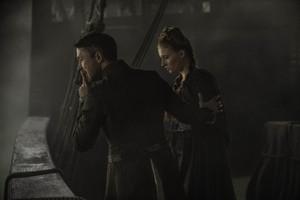 Petyr Baelish and Sansa Stark