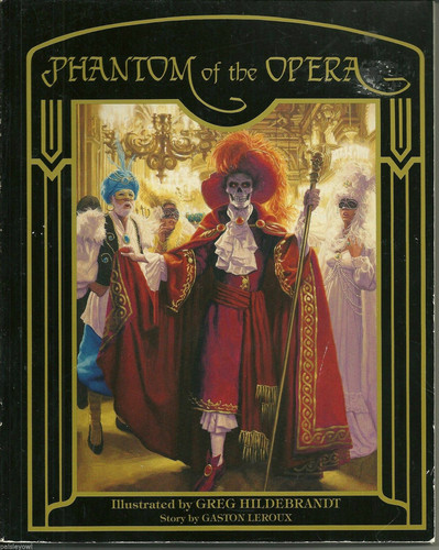The Phantom Of The Opera wallpaper probably with anime titled Phantom of the Opera 1988 by Greg Hildebrandt