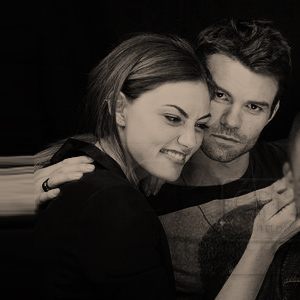 Elijah & Hayley wallpaper probably containing a portrait entitled Phoebe and Daniel
