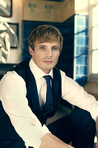 Bradley James wallpaper possibly containing a business suit called Photoshoots HQ