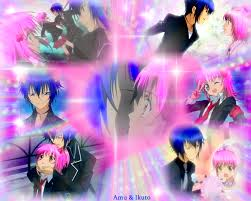 Pictures of Ikuto and Amu