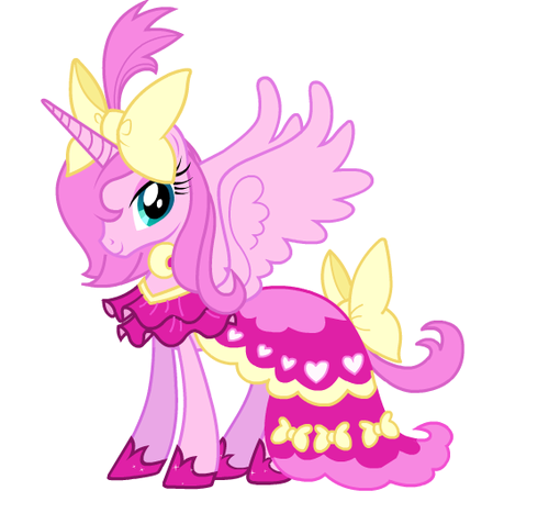 My Little Pony Friendship is Magic wallpaper possibly with anime titled Pink Luna?
