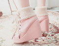 roze shoes