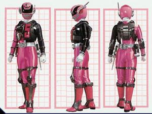 粉, 粉色 swat mode