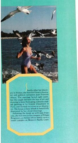クリスティ・ブリンクリー 壁紙 titled Platinum magazine, June 1983