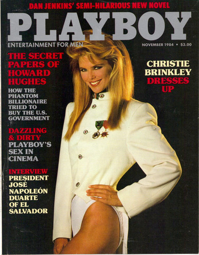 christie brinkley wallpaper probably containing anime entitled Playboy, November 1984