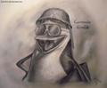 PoM - Commander Kowalski - penguins-of-madagascar fan art
