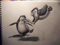 PoM - Surprise! - penguins-of-madagascar fan art