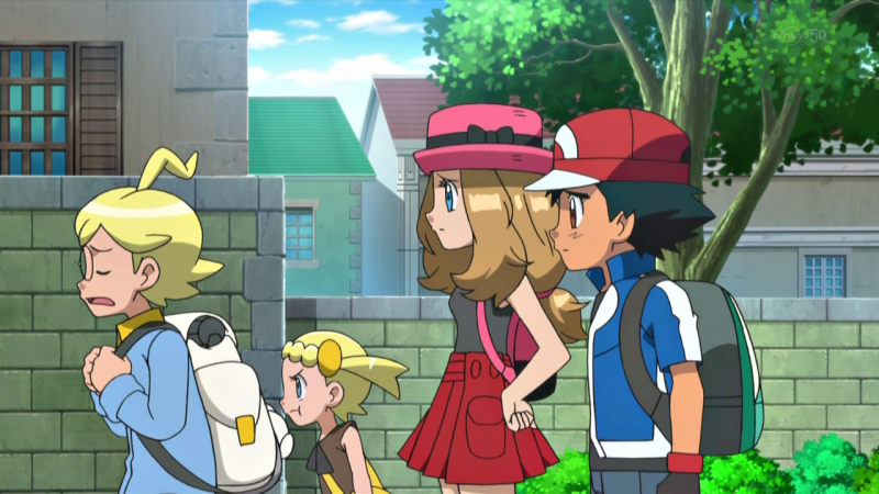 Pokemon x and y serena and ash