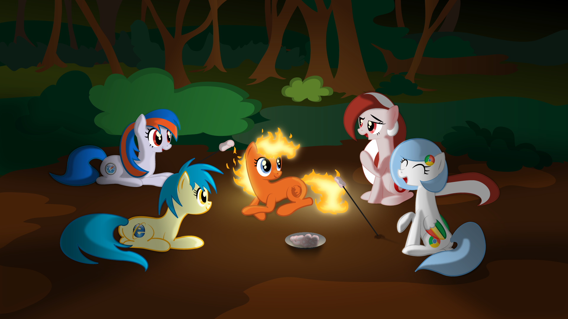 Google Chrome images Ponified Browsers Camping HD wallpaper and
