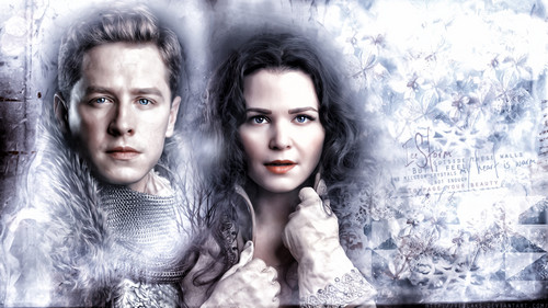 once upon a time wallpaper titled Prince Charming and Snow White