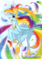 Princess Rainbow Dash - my-little-pony-friendship-is-magic photo