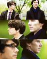 Q and Sherlock!! ;D