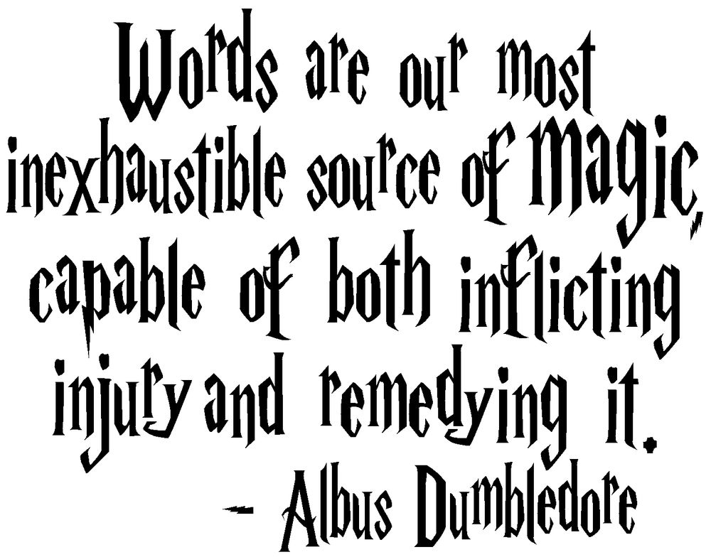 Quotes By Albus Dumble...