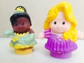 Rapunzel and Tiana toys  - disney-princess photo