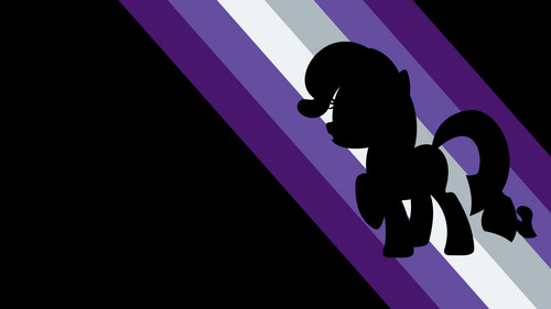 My Little Pony Friendship is Magic wallpaper probably containing a street, a cross, and a sign called Rarity Wallpaper