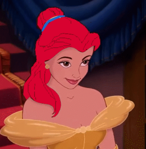 Red haired Belle