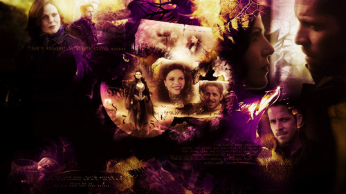 C'era una volta wallpaper titled Regina Mills and Robin cappuccio