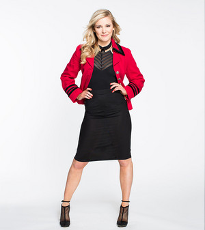 Renee Young as The Mountie