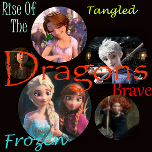 Rise of the Valiente frozen enredados dragones