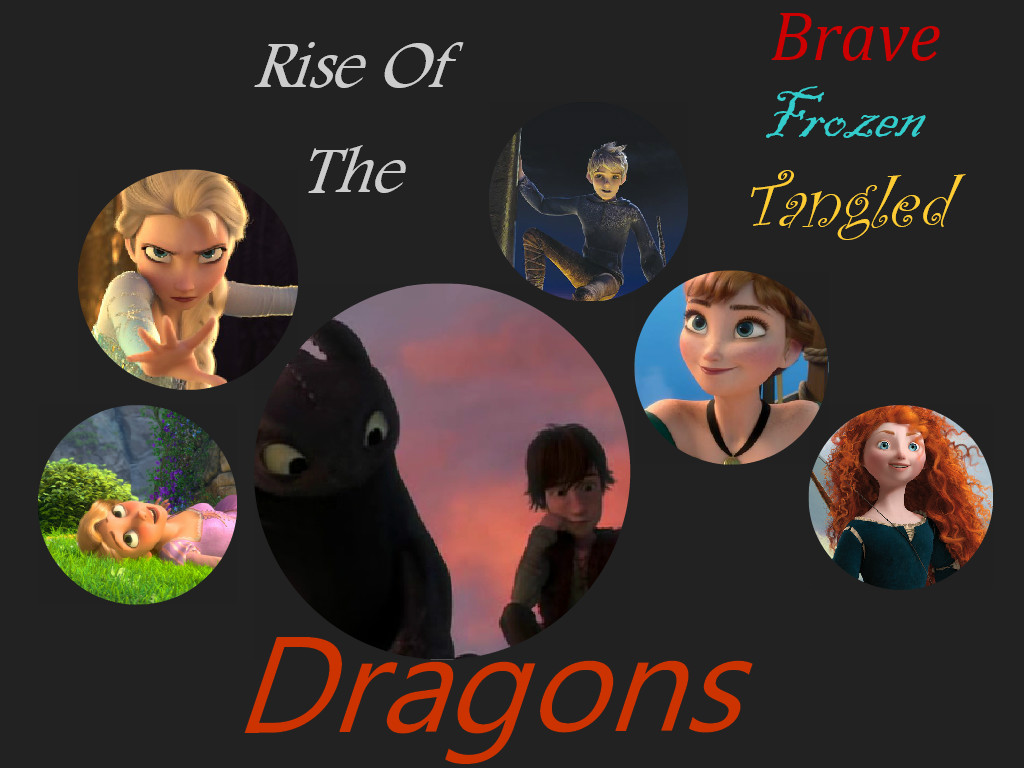 Rise of the 메리다와 마법의 숲 겨울왕국 라푼젤 용