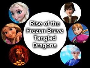 Rise of the Frozen Brave Tangled Dragons