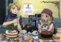 Riza Hawkeye and Winry Rockbell - riza-hawkeye-anime-manga photo