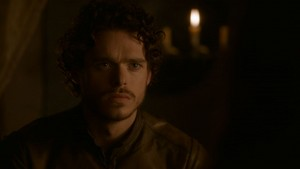 Robb in the Prince of Winterfell