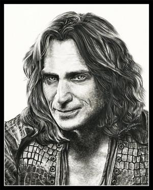 Robert as Rumple drawing bởi Jenny Jenkins