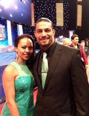 Roman Reigns and his fiancée