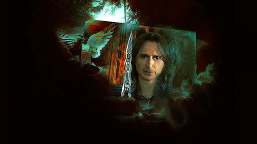 Once Upon A Time wallpaper possibly containing a fire titled Rumpelstiltskin