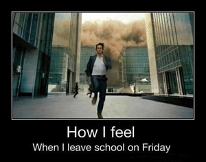 Run from school