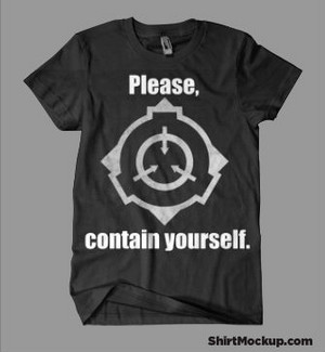SCP Foundation Shirtmockup
