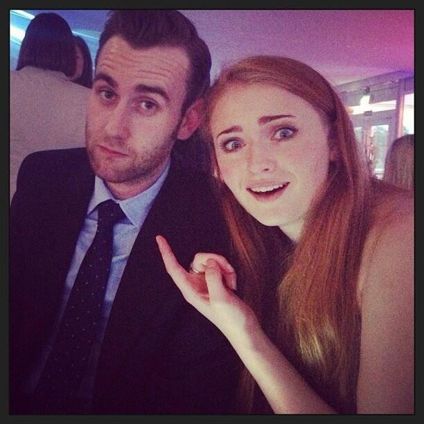Sansa Stark and Neville Longbottom