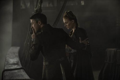 Sansa Stark Hintergrund titled Sansa Stark and Petyr Baelish