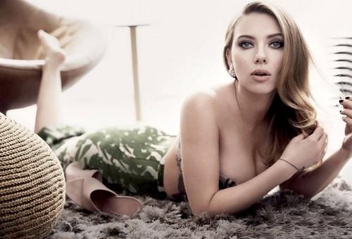 scarlett johansson wallpaper with skin entitled Scarlett Johansson